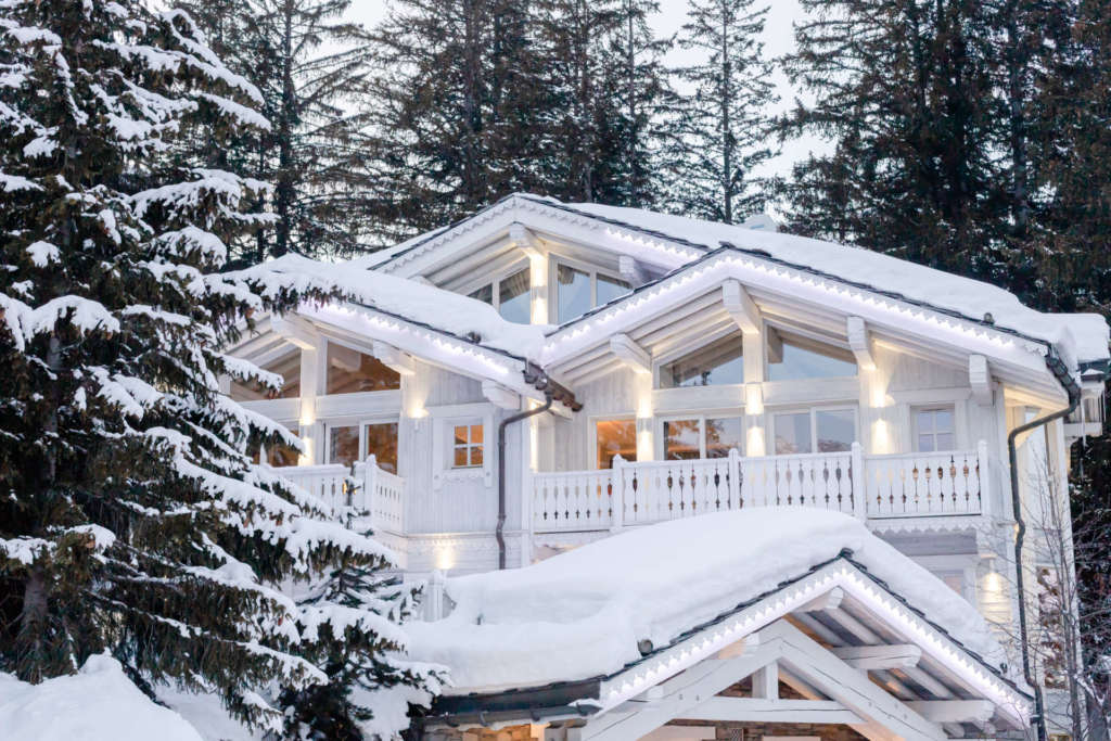 Luxury home for elopement to courchevel