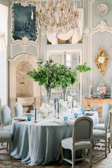 Couple de mariés au chateau de villette à Paris