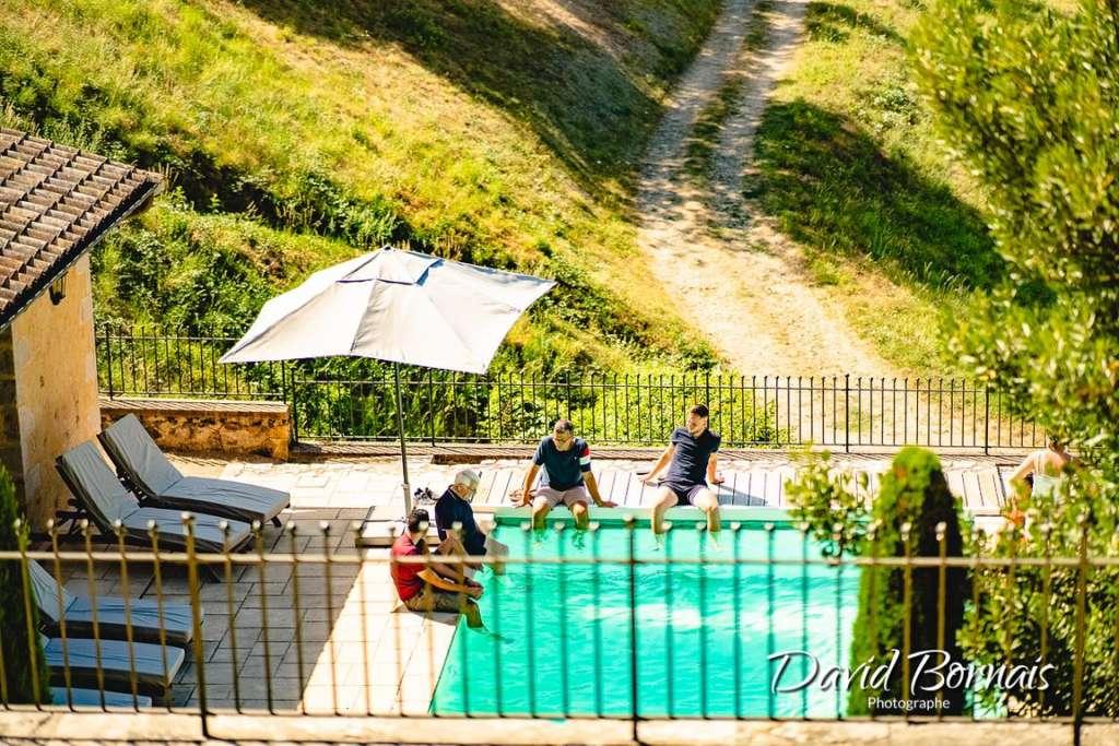 Domaine de Vavril , piscine