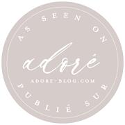 Badge adoré blog mariage